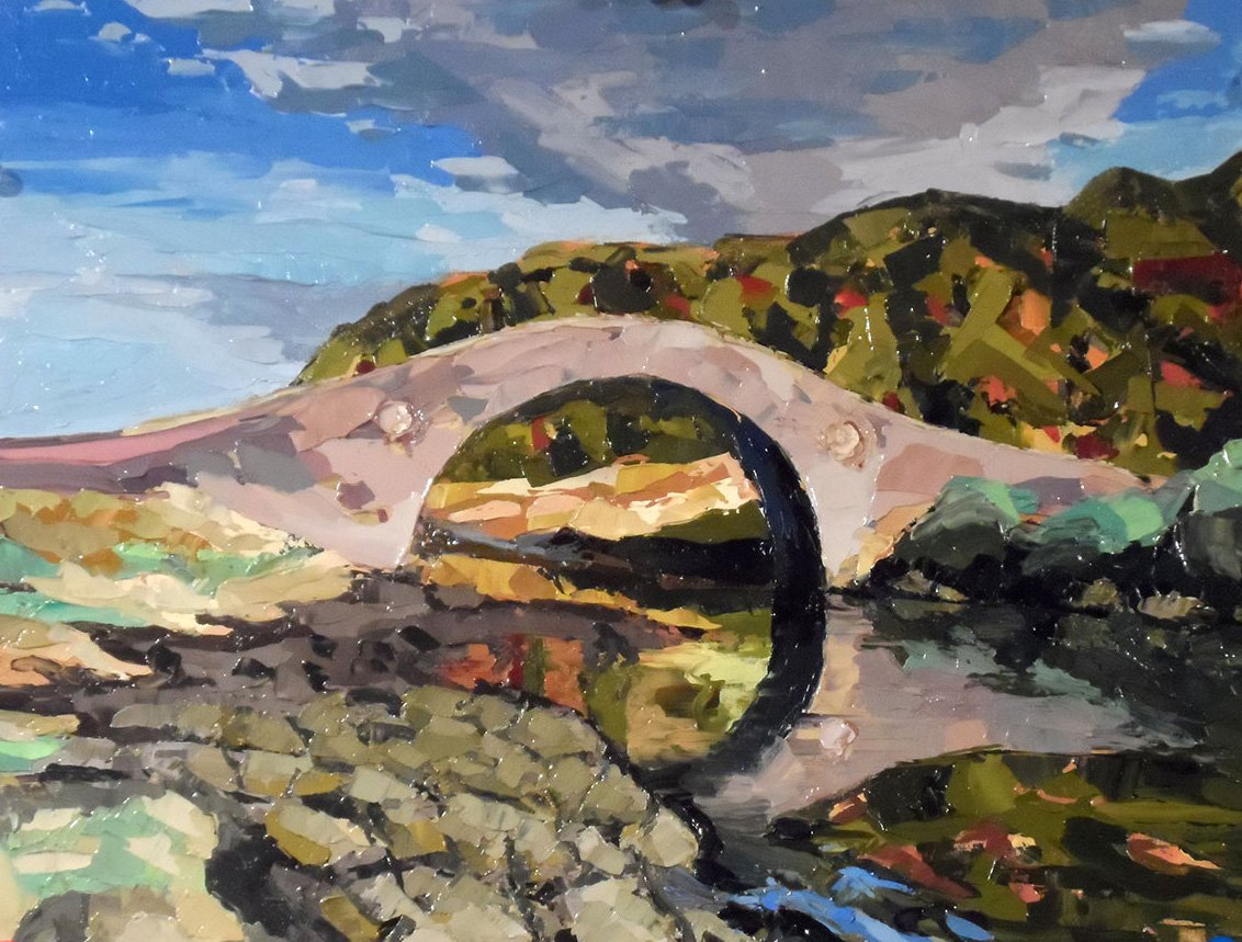 Abandoned Bridge (2015) - Private Collection
