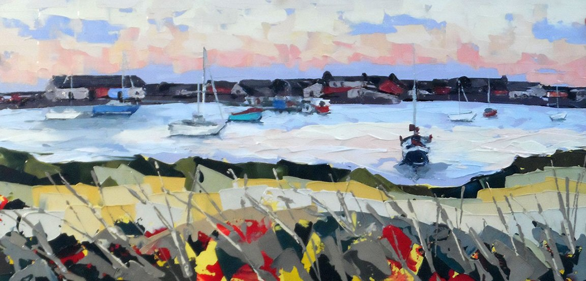 Findhorn Bay, 2015 - Private Collection