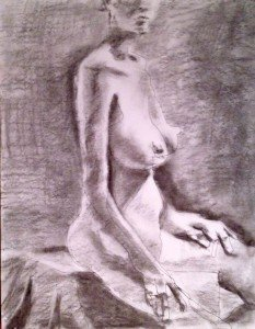 Seated Nude SKETCH_15