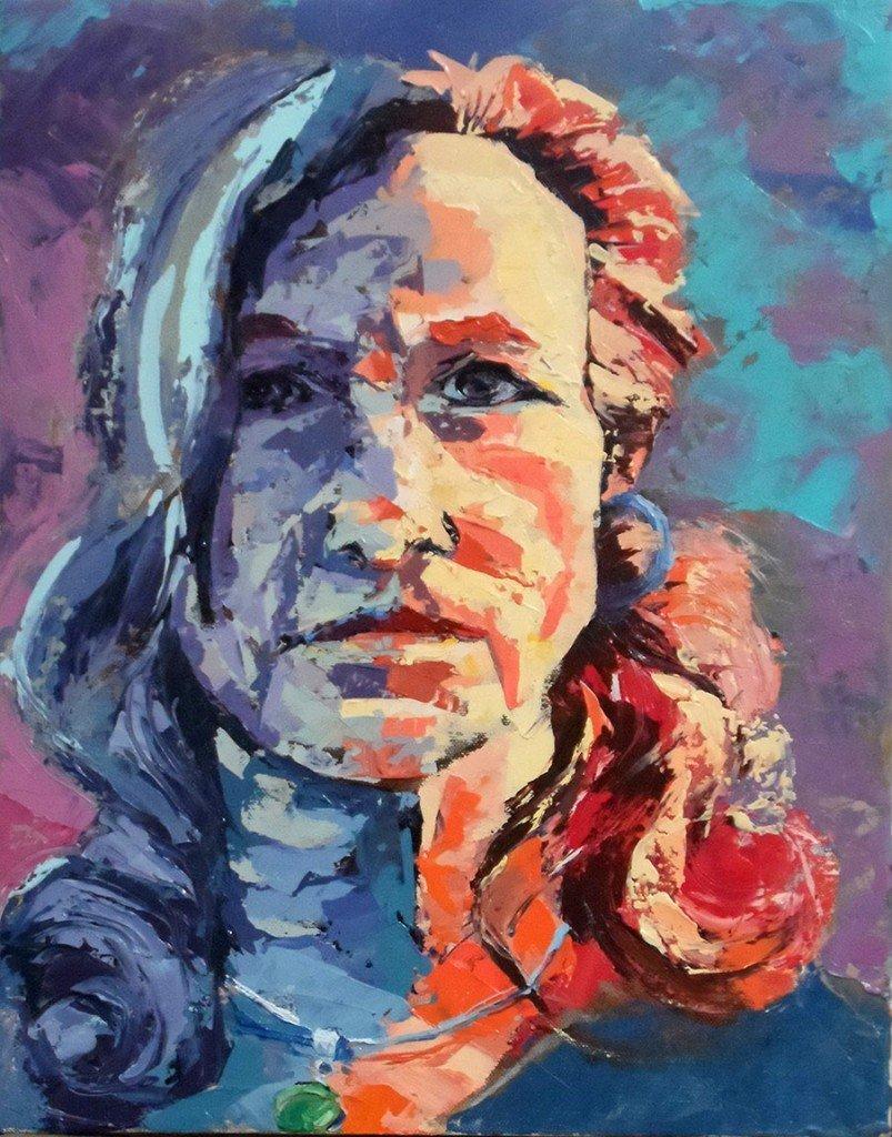 Self Portrait of Peggy J Kirk