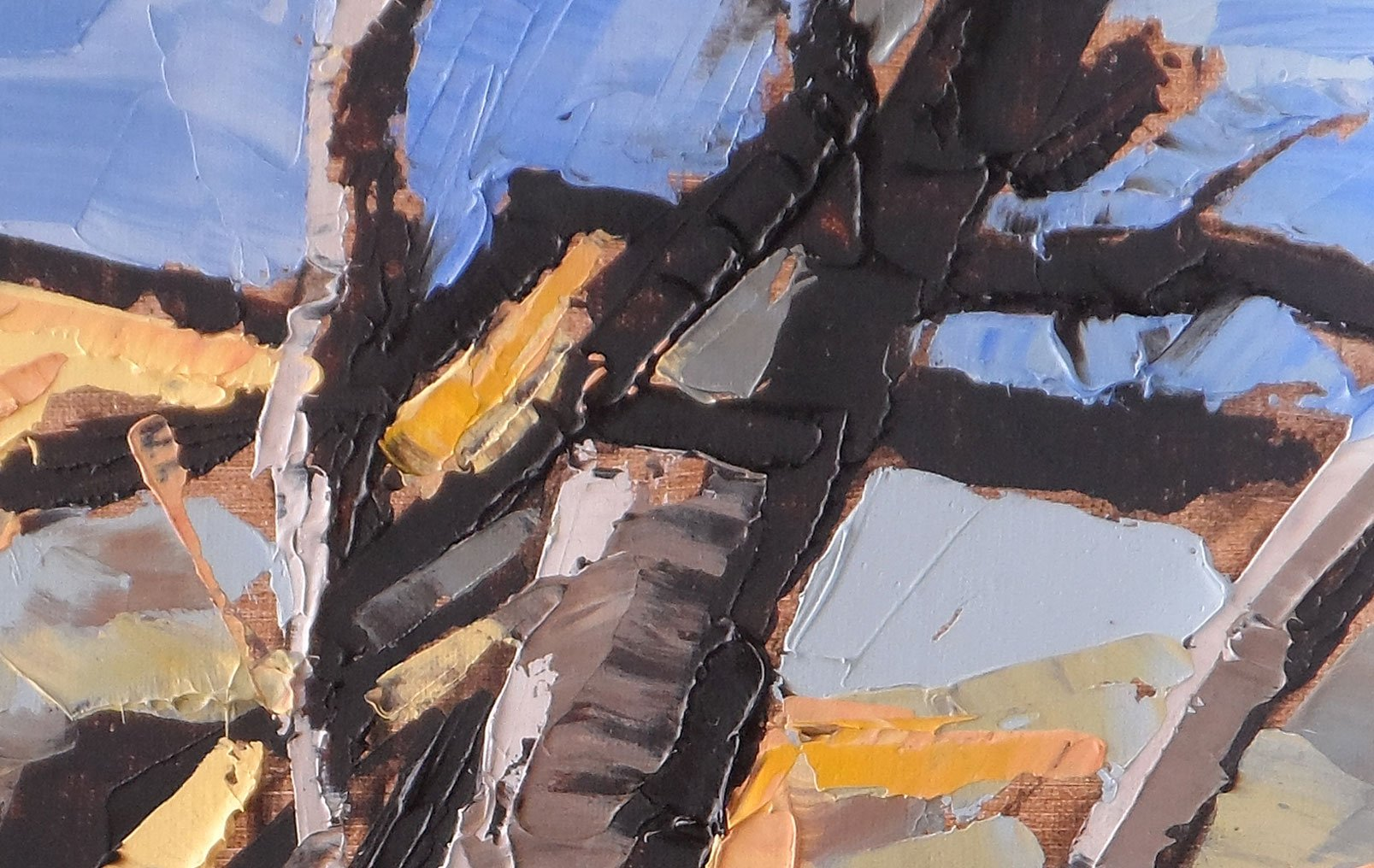 Telluride Tree Study Detail
