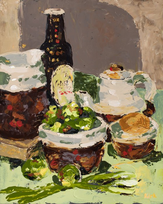 Stouts & Sprouts (2011) - Private Collection